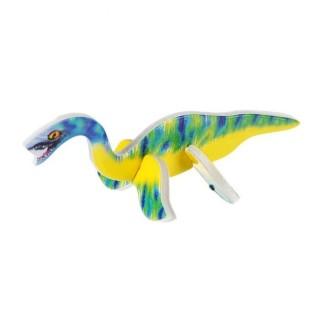 Конструктор 3D Фигурки животных: динозавры, микс