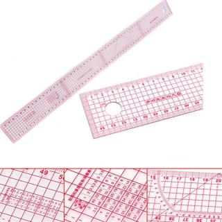Гибкая метрическая разметочная линейка 60 см для шитья