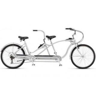 双轮自行车/ Двухколесный двухместный велосипед